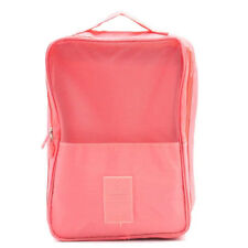 Travel Luggage Shoes Slippers Bag Pouch Organizer (Peach Pink)