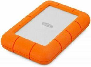 LaCie Rugged 5TB External Hard Drive USB-C Thunderbolt New Sealed Free Shipping