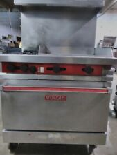 """vulcan convection oven with 2 stovetop burners and 24"""" griddle"""