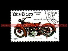 INDIAN CHIEF Scout 1930 - LAO LAOS Moto Timbre Poste