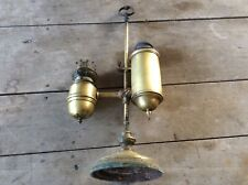 Lampe quinquet lampe huile pétrole ancienne  XIXieme siècle