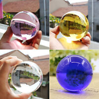 HN- Transparent Clear Round Artificial Crystal Ball Sphere Photography Props 60m