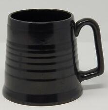 More details for vintage beswick tankard / mug black satin finish - vintage breweriana - beswick