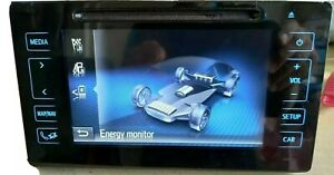 TOYOTA PRIUS DECODED TOUCHSCREEN MEDIA CD DAB NAV BLUETOOTH ACTIVATED UNIT 86140