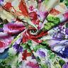 """Baumwolle Multi Color Floral Bedruckten Stoff 43 """"Breite Handwerk Von Der Werft"""