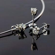 Anhänger Ohrstecker 14 K Weissgold Diamanten Brillanten Ohrringe Wert ca.4.000 €