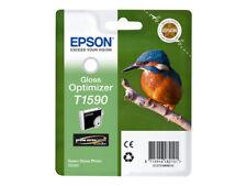 CARTOUCHE EPSON T1590 gloss optimizer / optimiseur de brillance martin pecheur