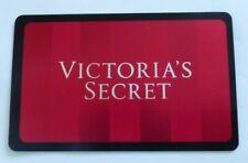 Victoria's Secret Gift Card - Red Stripes - Shiny - No Value - I Combine Ship