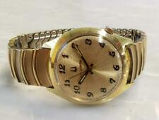 Vintage Bulova Accutron 218 Men's Gold Plated Wristwatch ~ 2-E176