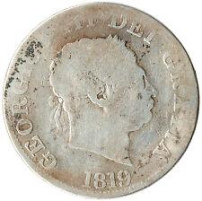 1819 HALF CROWN OF GEORGE III. GREAT BRITAIN      #WT3230