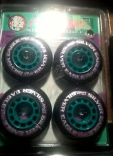 APACHE INLINE Roller Freestyle Hockey ALL PURPOSE WHEELS  Black 70x24mm MED x4