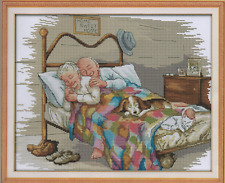 Counted Cross Stitch Kit Old Married Couple