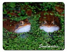 Two Pond Frogs 'Soulmates' Computer Mouse Mat Christmas Gift Idea, SOUL-76M