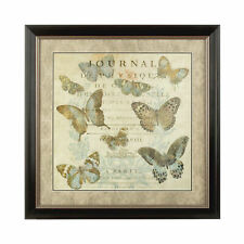 Framed Butterfly 1 Wall Art - Vintage Style. - RRP £266.99