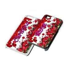 Rose Personalised custom Phone Cover for iPhone Samsung 4 5 6 7 6th case