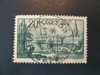 1938 France Port of St. Malo Scott #347 Used VF/XF SCV $19.00 - See Description