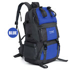 New Outdoor Backpack Hiking Bag Camping Travel Waterproof Pack Mountaineering