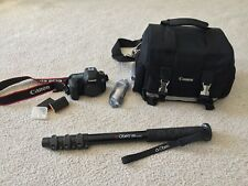 Canon EOS 6D 20.2MP DSLR Camera - Body only, bag, and monopod (8035B002)