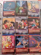 SAINT SEIYA AMADA BANDAI CARDGAME CARD GAME 8 CARDS