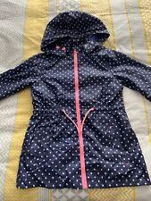 Girls Lightweight Showerproof Coat 11-12 Years