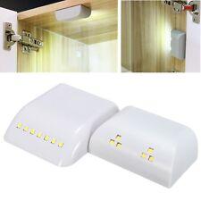 Battery Powered LED PIR Motion Sensor Inner Hinge Light Wireless Cabinet Wardrob