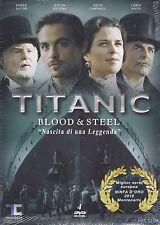 3 Dvd Box Cofanetto TITANIC ♦ NASCITA DI UNA LEGGENDA ♦ BLOOD & STEEL nuovo 2012