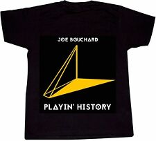 JOE BOUCHARD T-SHIRT Blue Oyster Cult co-founder solo album Playin' History