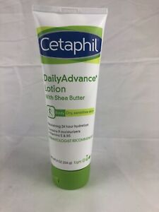 Cetaphil Daily Advance Lotion for Dry/Sensitive Skin Shea Butter 8 oz (Z)