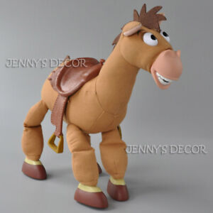 "Disney Toy Story Stuffed Plush Soft Doll 40cm 16"" Bullseye Woody's Horse Figure"
