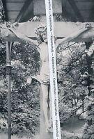 Baden-Baden - Kruzifix von Nikolaus Gerhart - um 1935 - selten  - N 24-20
