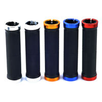 Bike Bicycle Grips MTB Rubber Soft Cycling Handlebar Lock On Grips 1 Pair
