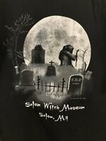 salem Witch museum T-Shirt Size S Occult Pagan Witchcraft Wicca Magick