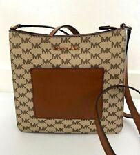 Michael Kors Women Leather Crossbody Bag Handbag Purse  MK Gloria Msrp  $248