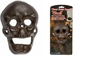 Skull Metal Bottle Opener - Terrific Gothic Beer Opener - Rustic Metal-Look