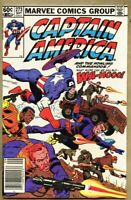 Captain America #273-1982 fn/vf 7.0 1st Baron Strucker robot Nick Fury