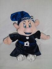 Disney Store Plush Blue Dopey Bean Bag Winter Snow White Seven Dwarfs Stuffed