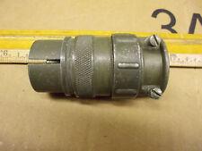one Amphenol MS 7 Pin Circular Plug assembly 24-2P, Used