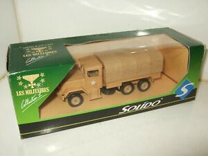 Solido Militaires,No 6005 Kaiser Jeep US Army, N. Africa Diecast Model in 1:50