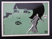CP carte postale CREPAX 12/3 Louise Brooks