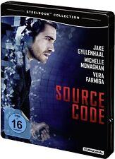 SOURCE CODE (Jake Gyllenhaal, Michelle Monaghan) Blu-ray Disc, Steelbook NEU+OVP