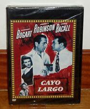 CAYO LARGO-KEY LARGO-DVD-NUEVO-PRECINTADO-HUMPHREY BOGART-CINE CLASICO-THRILLER