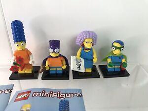 Lego The Simpson's Minifigures Bundle x 4 figures (B)