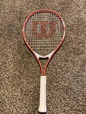 """Wilson Venus & Serena 25 inch Pink White Tennis RACQUET RACKET 3 7/8"""" Grip"""