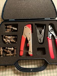 Unbranded Cable Kit: Cable Stripper,Cable Cutter.