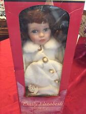 Emily Elizabeth 2001 Limited Edition Porcelian Doll