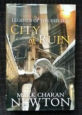 City of Ruin: Legends of the Red Sun #2 - Mark C Newton 1st Ed 2010 HB DJ vgc/nf