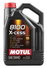 Motul aceite lubricante motor 8100 X-cess 5w40 5L