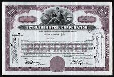 1936 Bethlehem Steel Corporation - 5 Shares