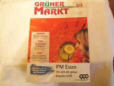 Zeitschrift: Grüner Markt. 1/2 Januar/Februar 2010