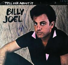 Billy Joel signed 45 RPM  record autographed sleeve + COA